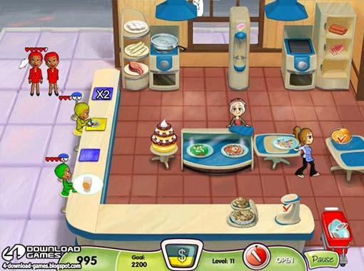 لعبة مطعم الطبخ Cooking Dash