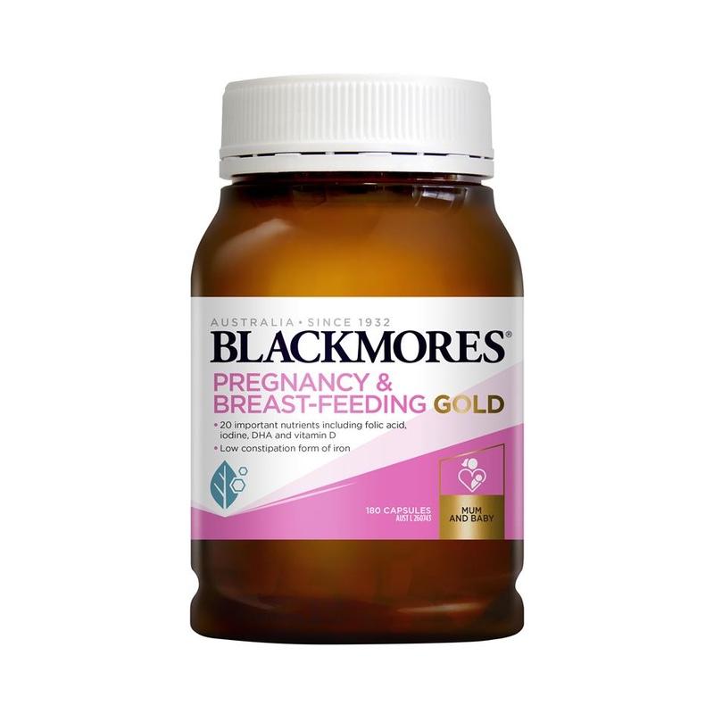 Vitamin tổng hợp cho bà bầu Blackmores Pregnancy Gold