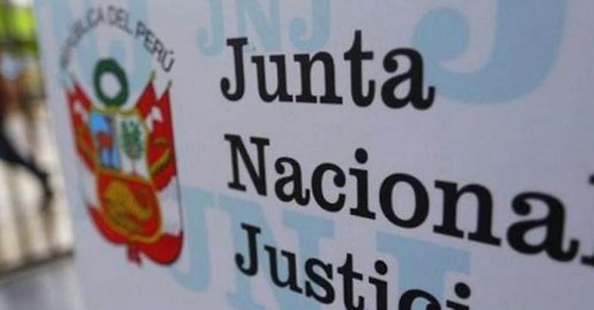 JNJ: Hoy se conocerá a ganadores de concurso para jefes de ONPE y Reniec, informó la Junta Nacional de Justicia (Resultados Miércoles 26 Agosto 2020)