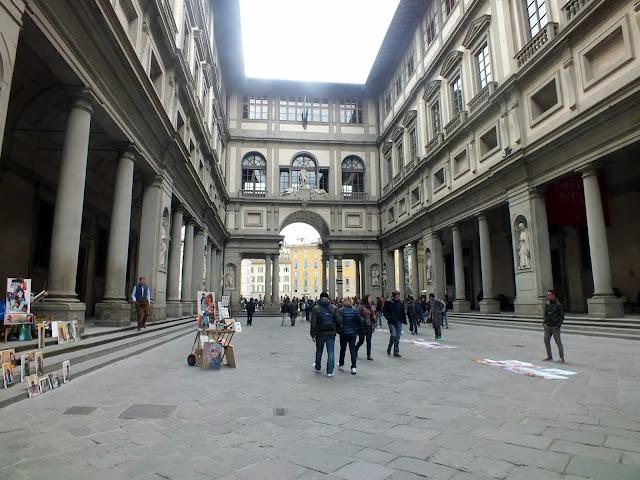 Los Uffizi en Florencia