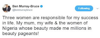 Ben Bruce states the women responsible for his success in Life