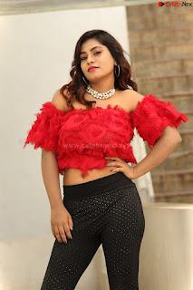 Priya Augustin in Red Top cute beauty hq .xyz Exclusive Pics 008