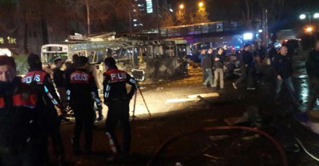 Έκρηξη βόμβας μεγάλης ισχύος στην Άγκυρα