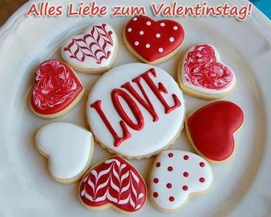 Valentinstag lieben Gruß