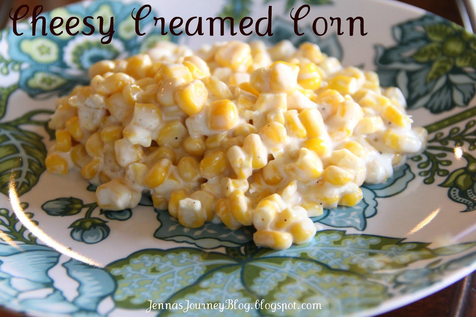 Jenna Blogs: Cheesy Creamed Corn