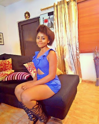 Underaged Nigerian Actress Blasted for Wearing this Revealing Outfit