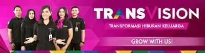Lowongan Kerja SMA SMK D3 S1 PT Indonusa Telemedia (Transvision), Jobs: Sales Variable