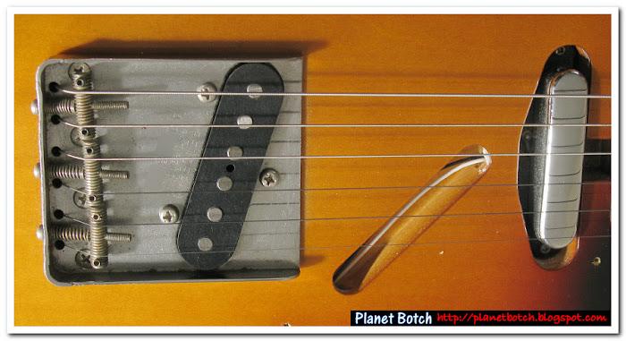 Fender sunburst Custom Telecaster minus scratchplate