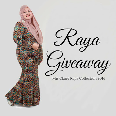 RAYA #GIVEAWAY WITH MISCLAIRE