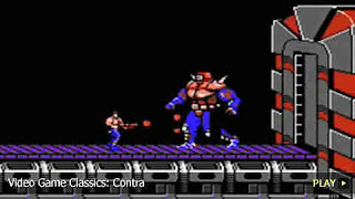 Contra soldier fighitng