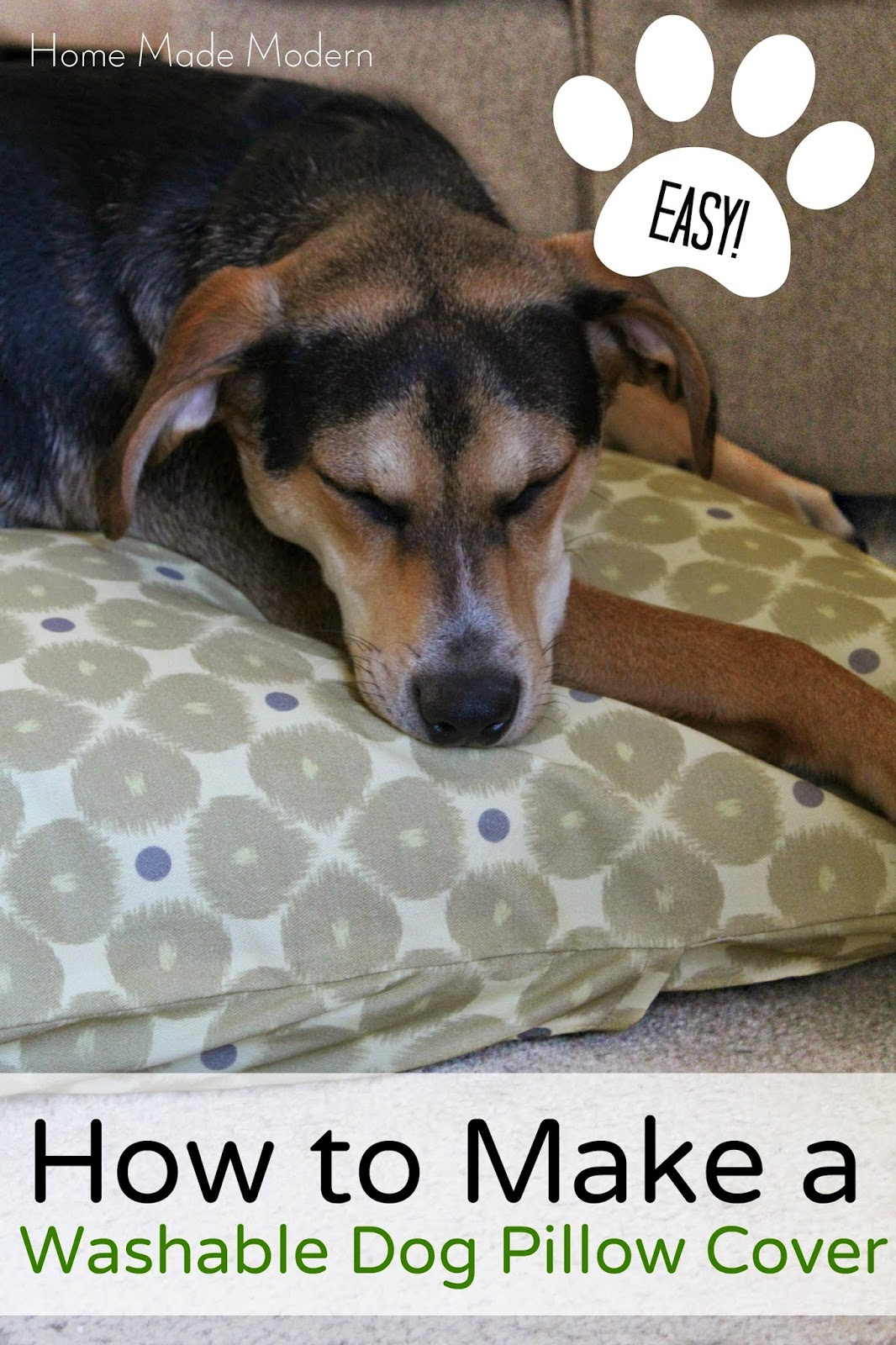 Guest Post: How to Make a Dog Bed with Custom Fabric - Zazzle Blog