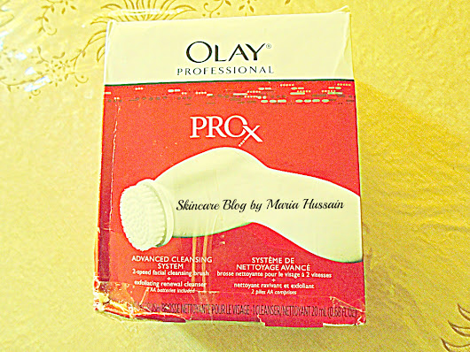 Olay Professional Pro-X Advanced Cleansing System  ~ Skin Care Blog by Maria Hussain