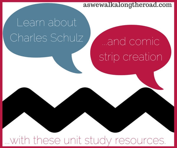 Resources for learning about Charles Schulz and Comic Strip Creation