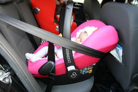 Maxi-Cosy autostoeltje baby met Isofix