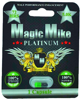 Magic Mike Platinum Male Enhancement 1-Count Blister Pack