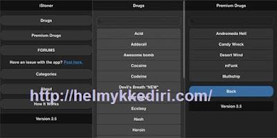 Aplikasi narkoba online untuk android1