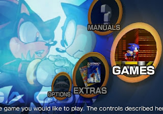 Sonic Mega Collection Plus PC Menu Capa