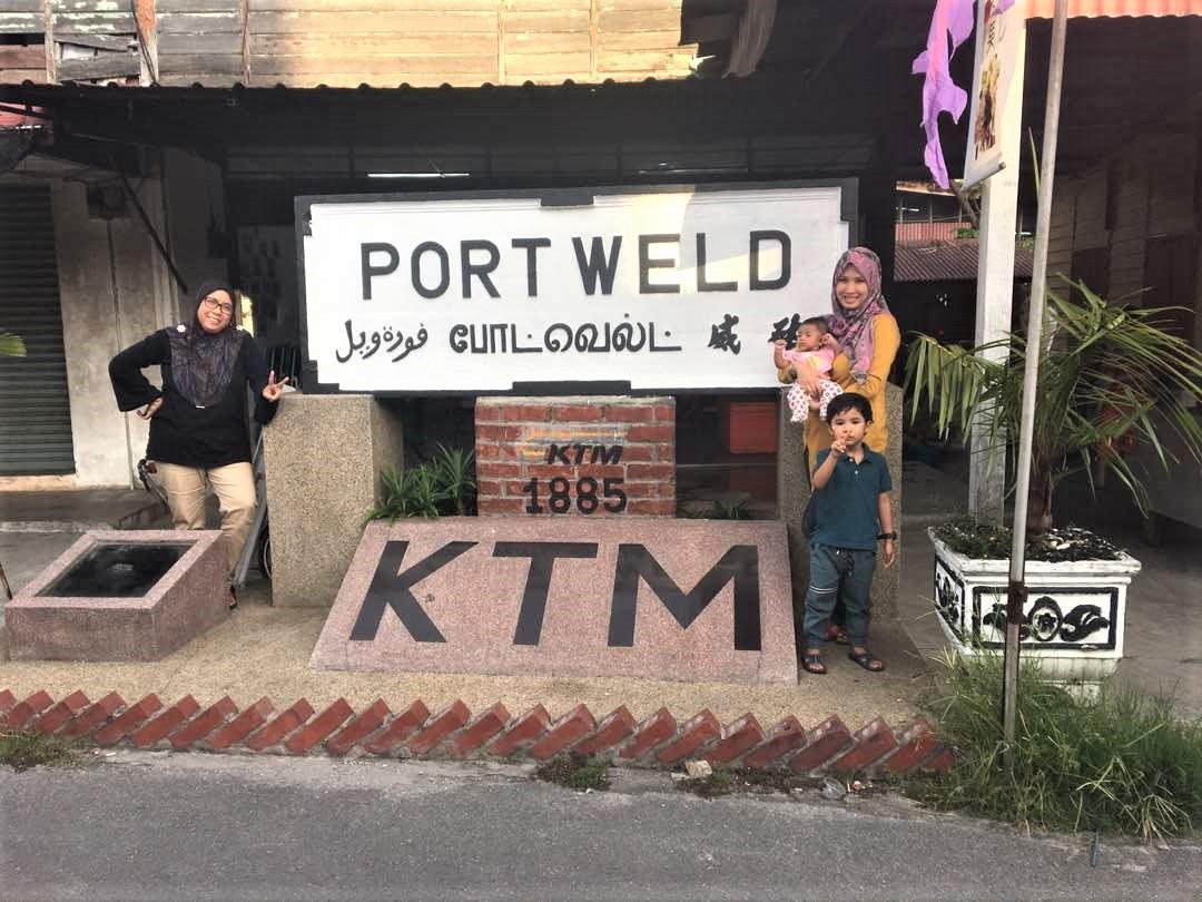 Menjejaki Peninggalan Stesen Kereta Api Pertama Tanah Melayu Laluan Antara Taiping dan Port Weld