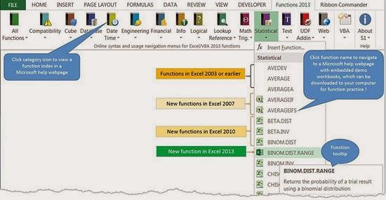 Quick Excel-VBA Functions Help - Description