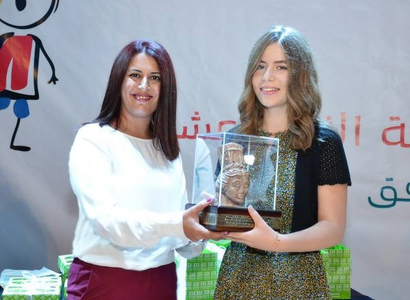 Daughter of Princess Ghida al-Talal of Jordan, Princess Rajaa held an official event for children at Zaha Cultural Center