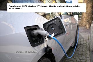 Porsche and BMW disclose EV charger