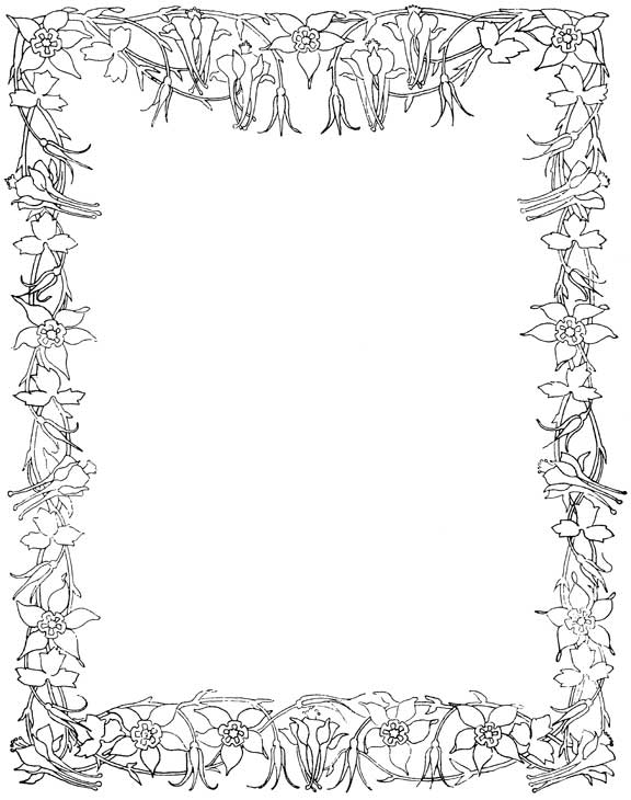 Tonica Ginger: Borders and frames clip art