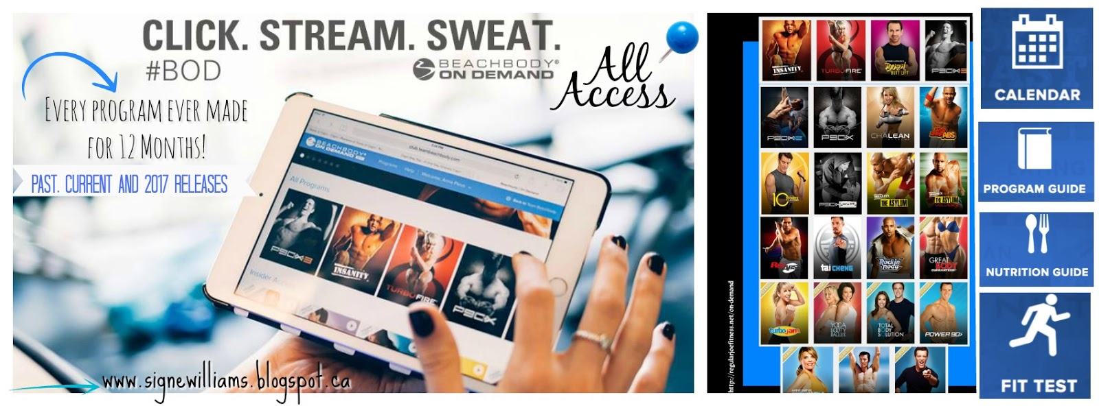 Beachbody On Demand ALL ACCESS PASS is HERE! - Signe