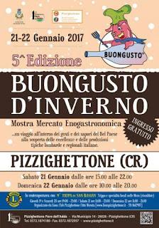 BuonGusto d'Inverno 21-22 gennaio Pizzighettone (CR)