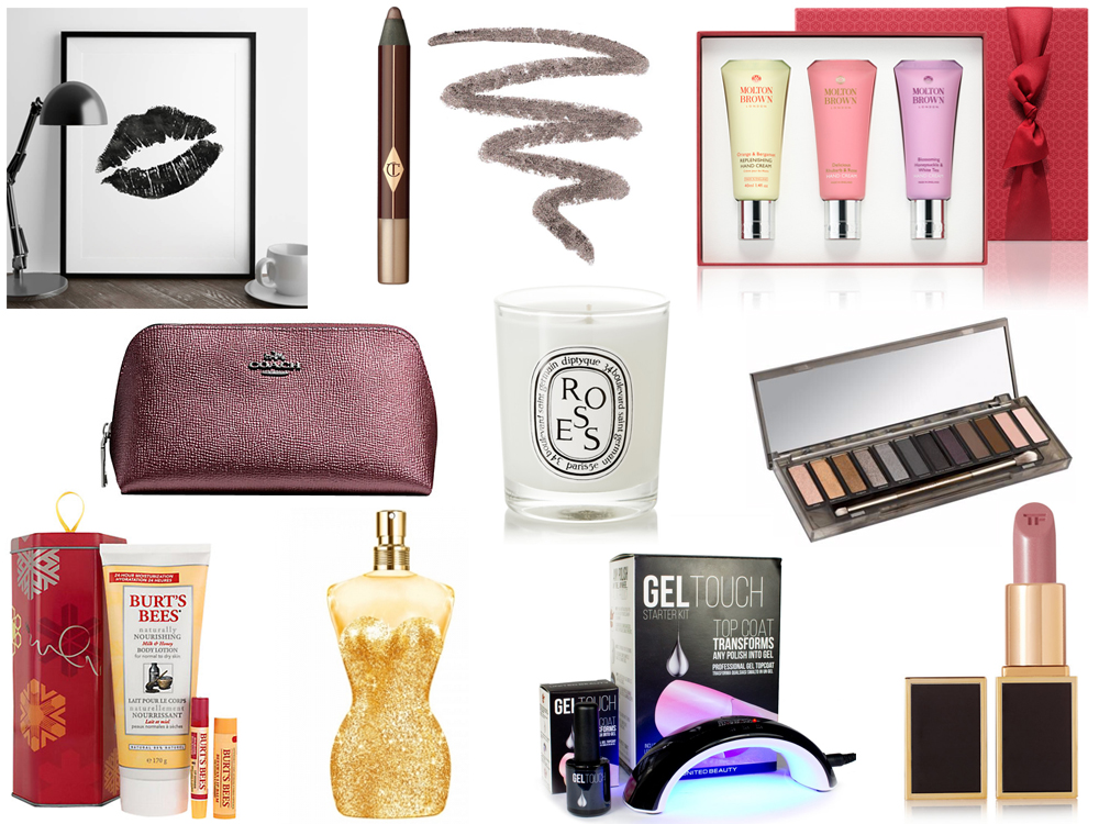 Christmas gift ideas for beauty lovers - perfume, cosmetics and skincare presents