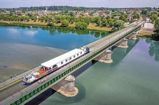 Briare Aqueduct in France