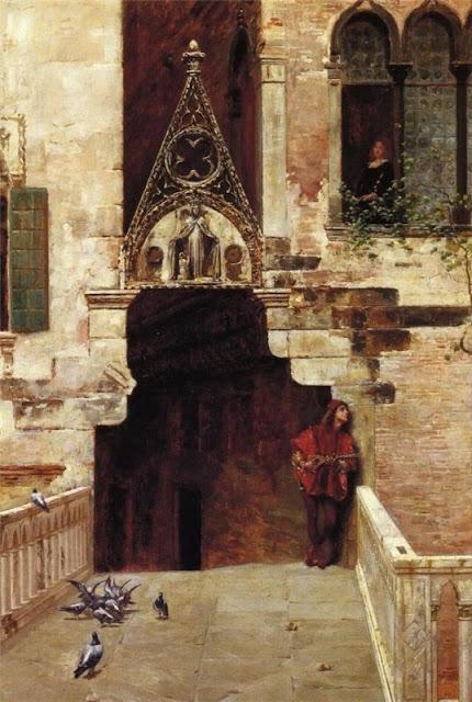 Charles Edouard Edmond Delort Ромео и Джульетта
