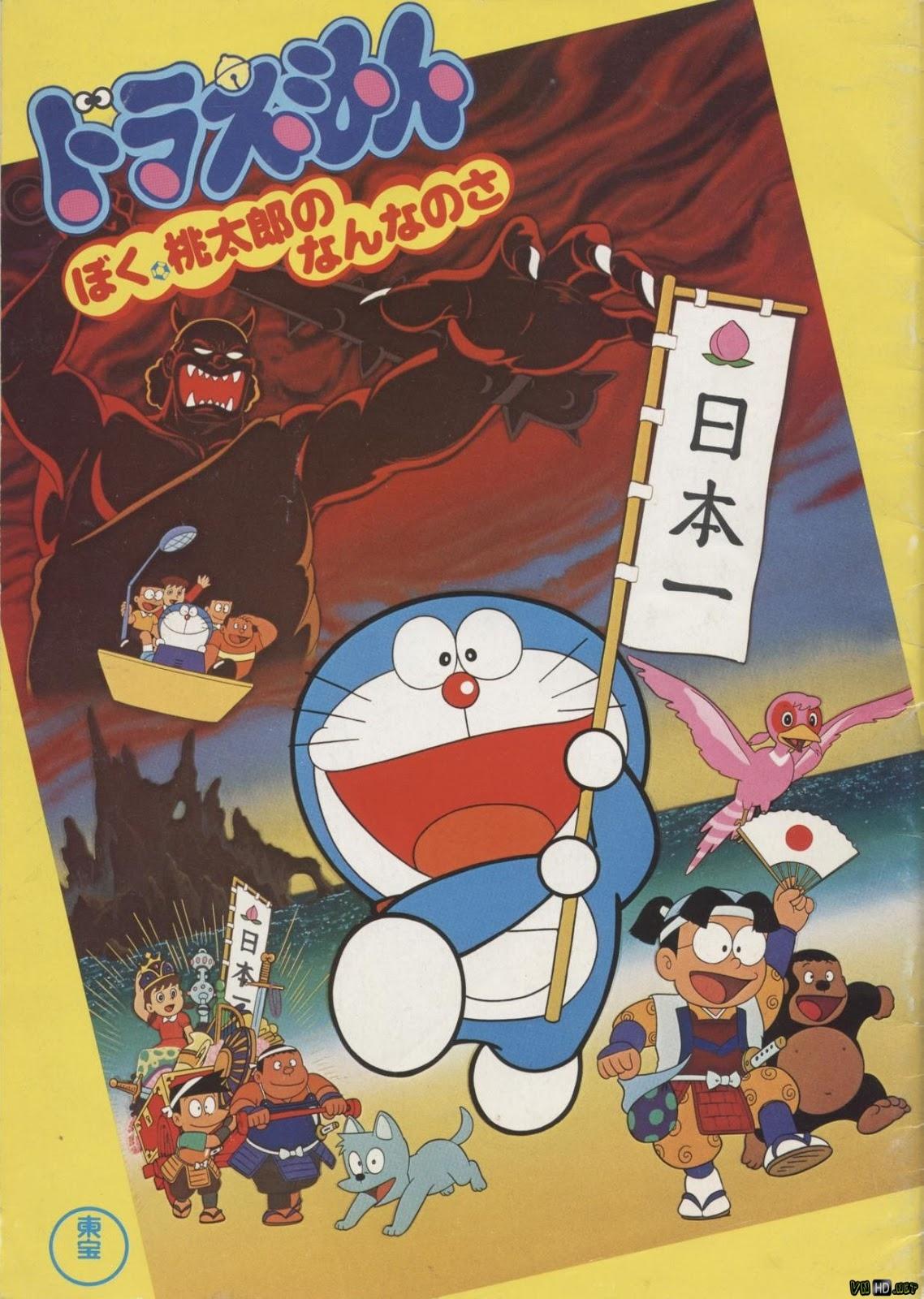 Doraemon Và Cậu Bé Quả Đào