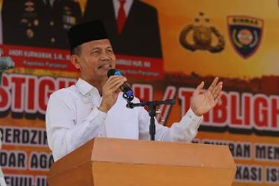 Sambut Pemilu 2019, Pemko Pariaman Gelar Tablik Akbar