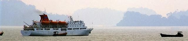 cruising between dawai and myeik