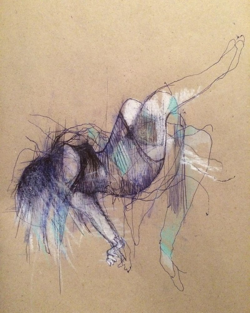 Figurative Drawings by Neal D Rolinson from UK.