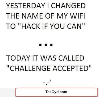 Best Funny WiFi Names Ever 2017 Tekgyd