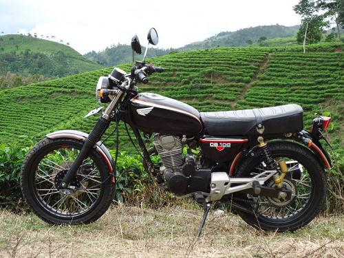 Modifikasi Trail CB 100