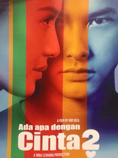 Download Film Ada Apa dengan Cinta 2 WEBRip + Kiss Scene