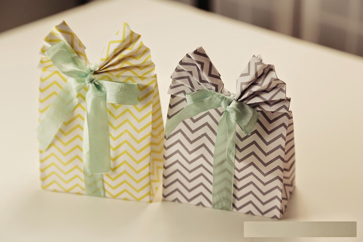 origami gift bag easy ~ easy paper craft for kids - photo#14