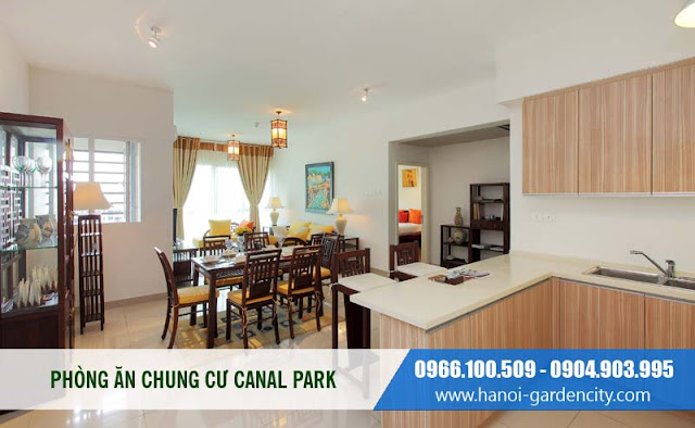 Căn hộ Canal Park chỉ 16 triệu/m vào ở luôn, chung cư Canal Park bàn giao Full nội thất