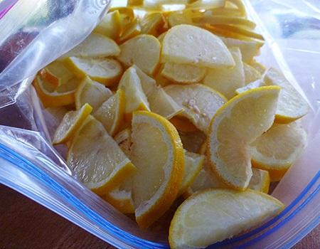 Ceci est la raison pour laquelle vous devriez congeler le citron!