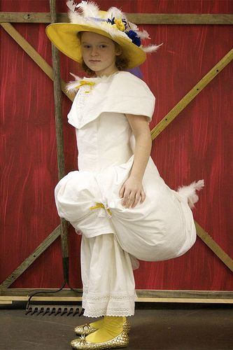 Disfraz casero de ganso