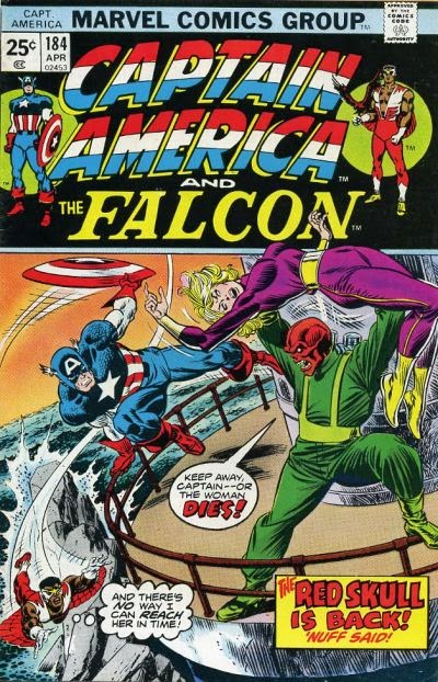 Captain America and the Falcon #184, Red Skull