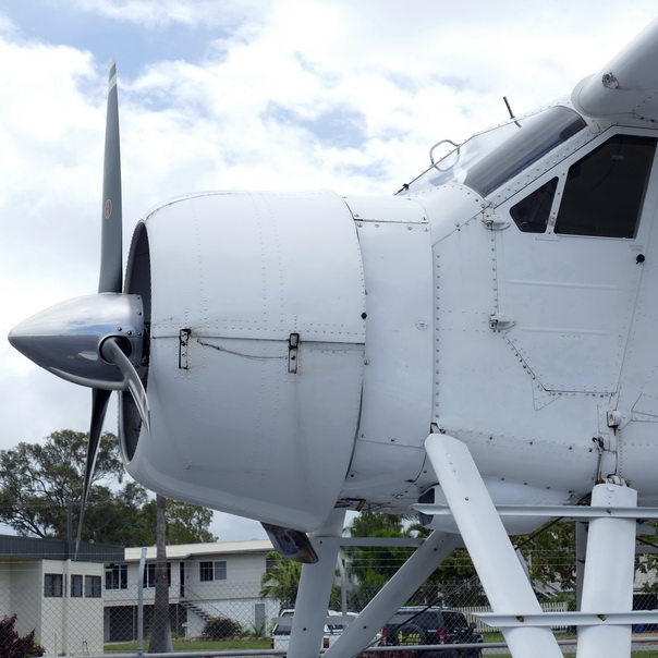 Propellerflugzeug Wasserflugzeug alt Tipps gegen Flugangst Start