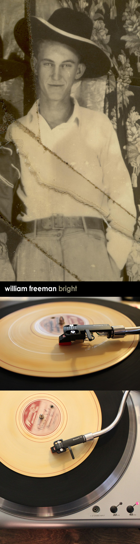 Freeman Bright's long lost recording