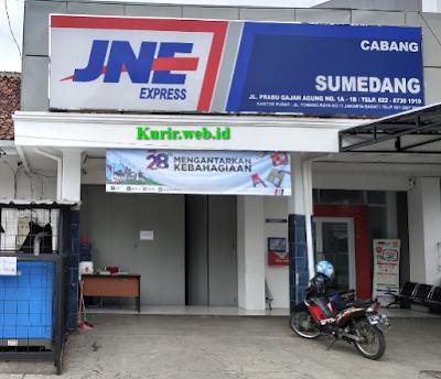 Alamat Agen JNE Sumedang-Jawa Barat