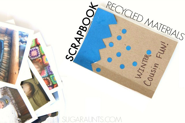 Scrapbook With Kids Using Recycled Materials The Ot Toolbox