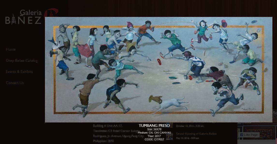Galeria Bañez Tumbang Preso - A Retro Pilipinas Feature