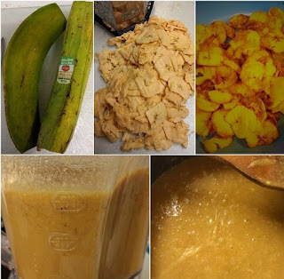 The process to make Mon´s Healthy Green Plantain Chips Soup(Paleo, AIP).jjpg