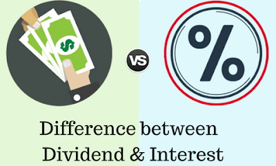 Difference Between Interest and Dividend